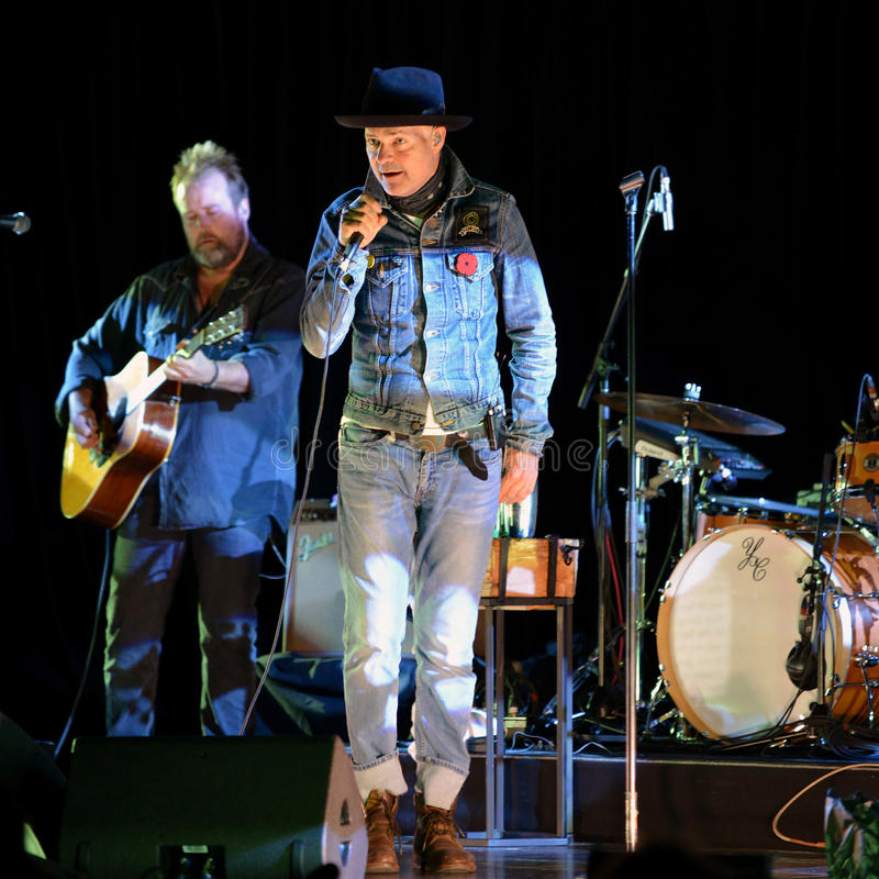 Free Gord Downie Secret Path Concert In Ottawa Stock Photography - 79136802
