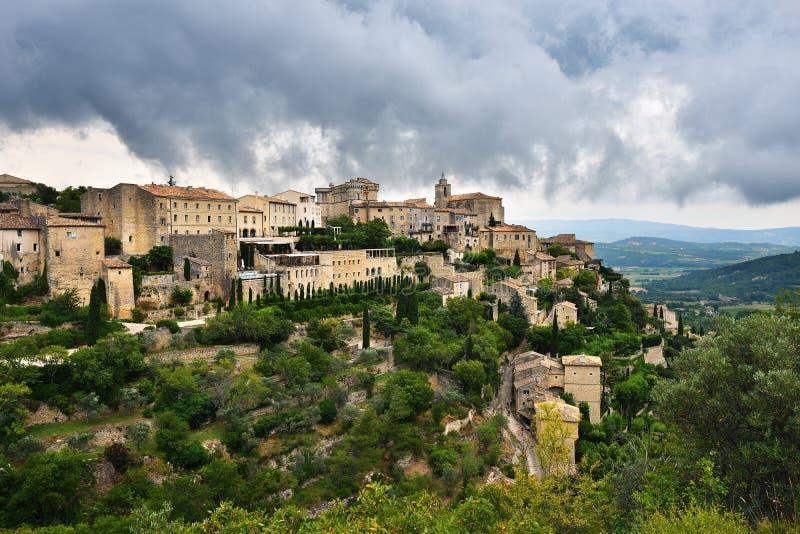gordes Провансаль Франции стоковые изображения