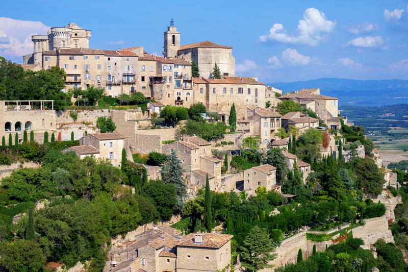 gordes Франции стоковые фото