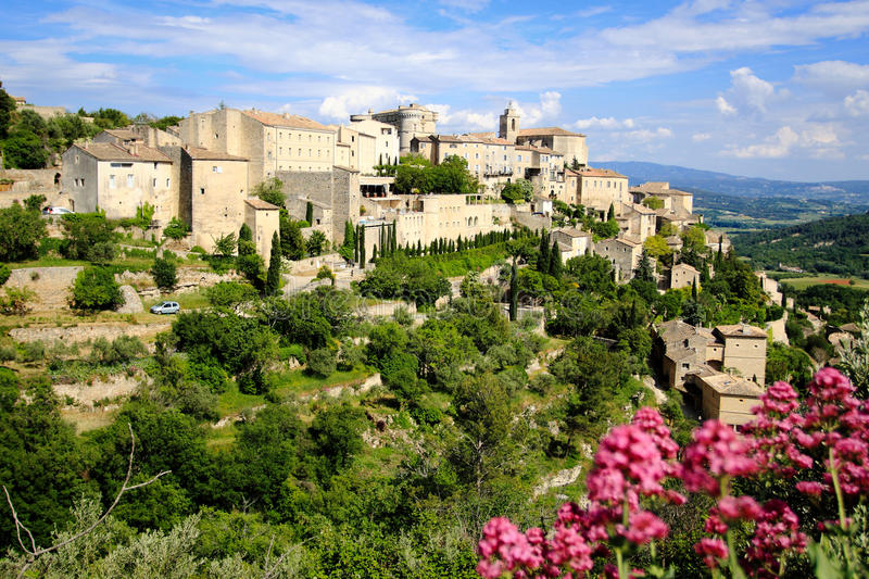Download Gordes stock image. Image of hilltop, city, panorama - 14883529