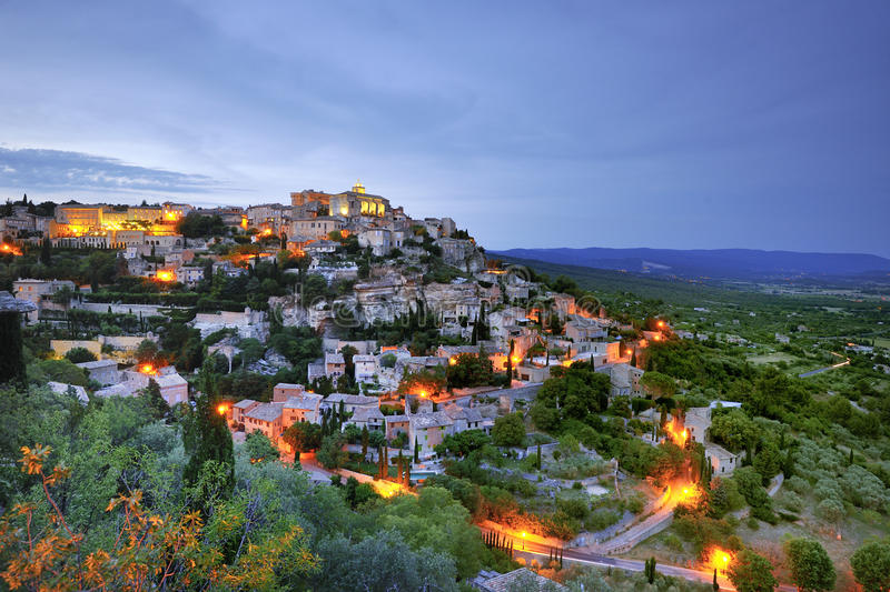 Gordes photo stock