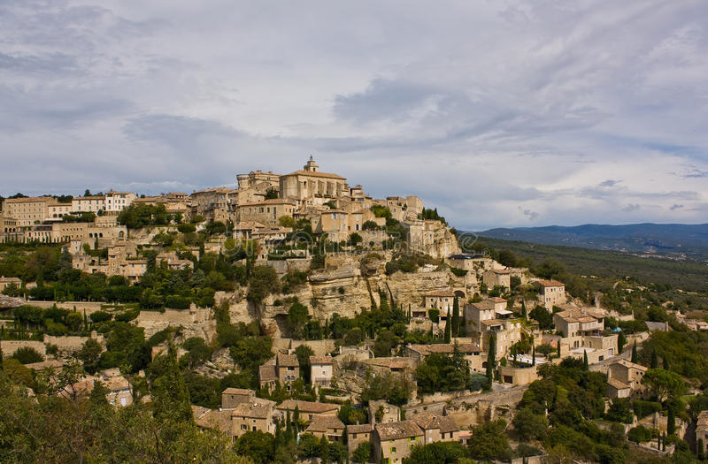Gordes, de Provence royalty-vrije stock foto