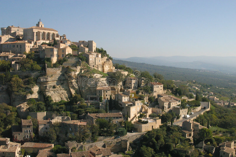 Gordes en Provence, France image stock