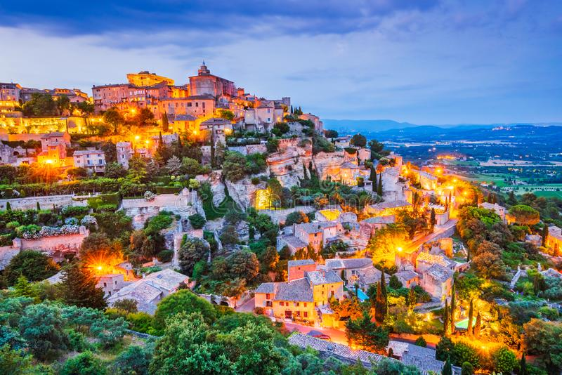 Gordes, Provence dans les Frances image stock