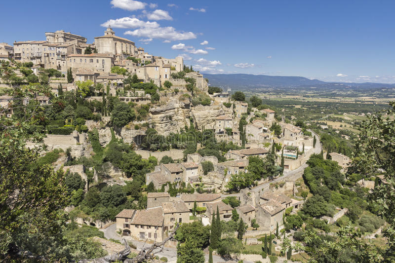 Download Gordes, Provence stock photo. Image of buildings, village - 32354914