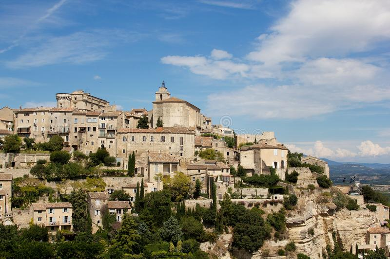 Download Gordes Village stock image. Image of hill, facade, holiday - 20651609