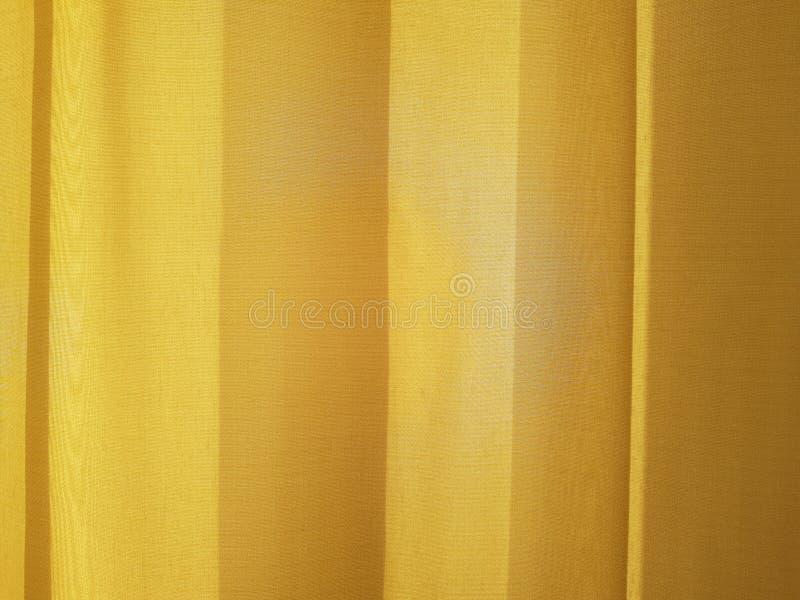 Gordijn in de flat stock fotografie