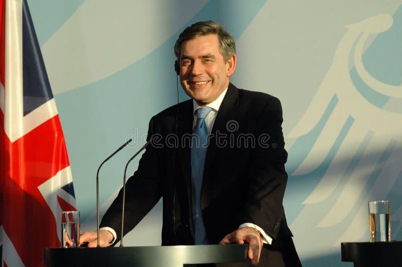 Gordon Brown stock photography