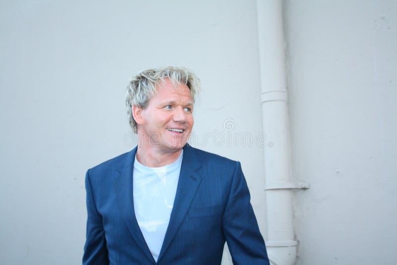 Gordon Ramsay royalty free stock photo