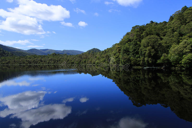 Gordon River Reflections stock photography