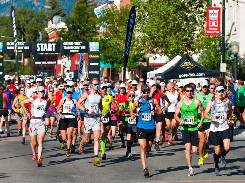 Download Gore-Tex Trans Rockies Run Start Of The 5 Day Race Editorial Stock Photo - Image: 20832723