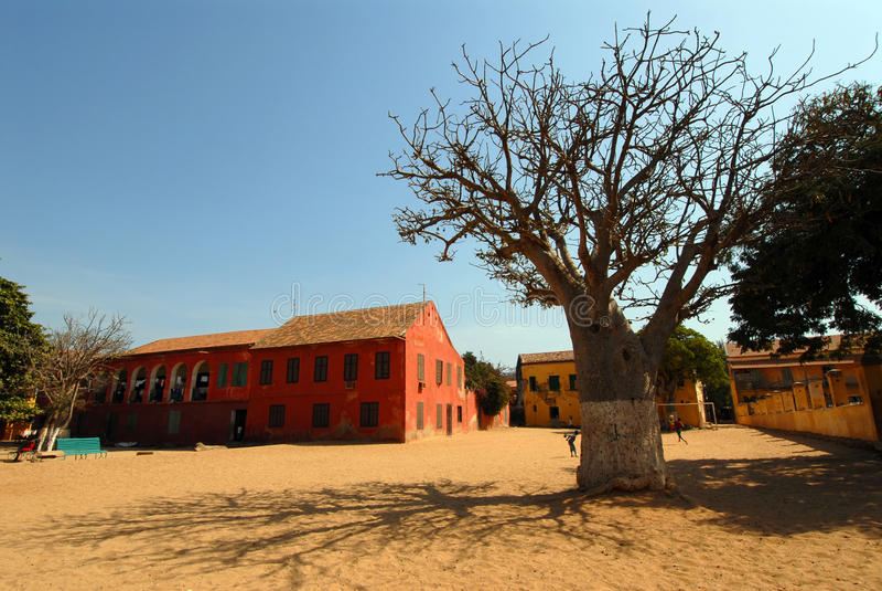 goree Σενεγάλη στοκ εικόνες με δικαίωμα ελεύθερης χρήσης