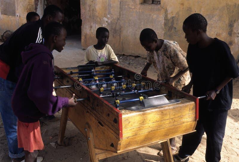 Goree Insel. Senegal lizenzfreie stockbilder