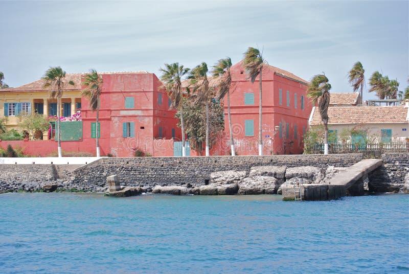 Goree-Insel, Senegal lizenzfreie stockfotos