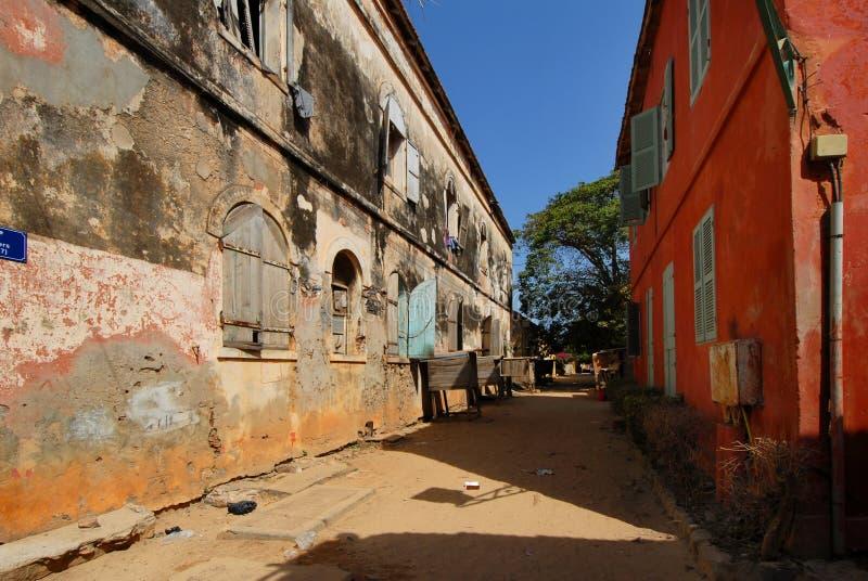 Goree Sénégal photos stock