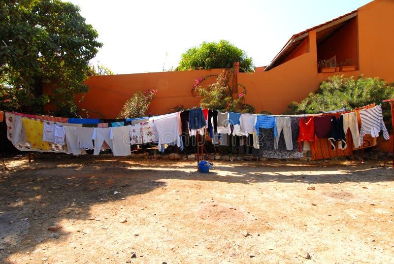 Goree Senegal lizenzfreies stockfoto