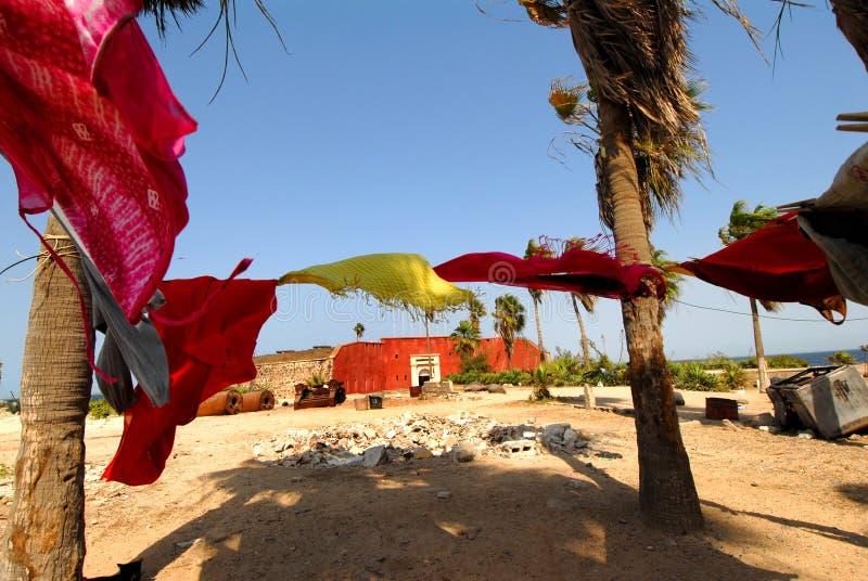 Goree Senegal stockbilder