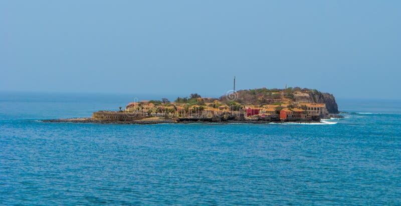Goree wyspa, Senegal obrazy stock