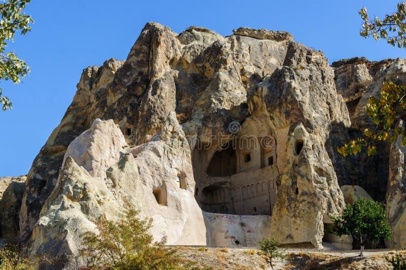 Goreme露天博物馆, Kapadokya,土耳其 免版税图库摄影
