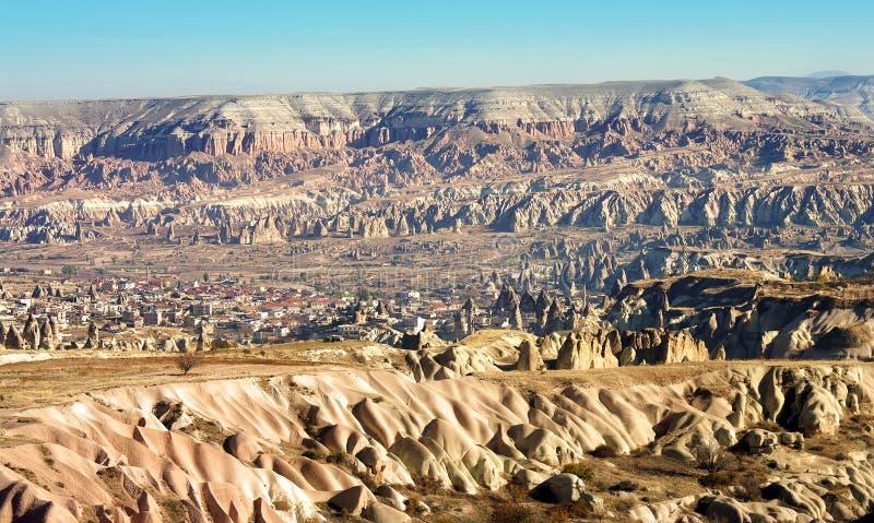Goreme, Cappadocia - die Türkei lizenzfreie stockbilder