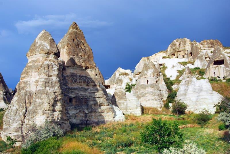 Goreme Cappadocia/Turchia fotografia stock libera da diritti