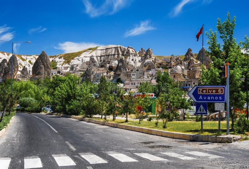 Goreme, Cappadocia, Turchia immagini stock