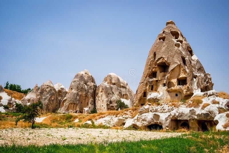Goreme, Cappadocia, Turchia fotografia stock libera da diritti