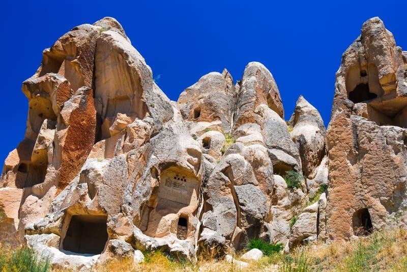 Goreme, Cappadocia, Turkije stock fotografie