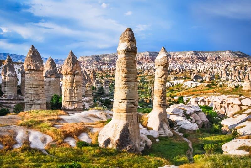 Goreme, Cappadocia, Turquia fotos de stock royalty free