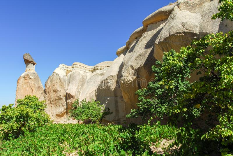 Goreme Open Air Museum - Turkey royalty free stock photography