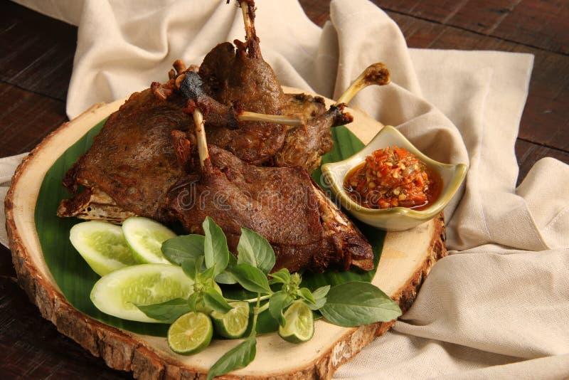 Goreng Bebek стоковая фотография rf