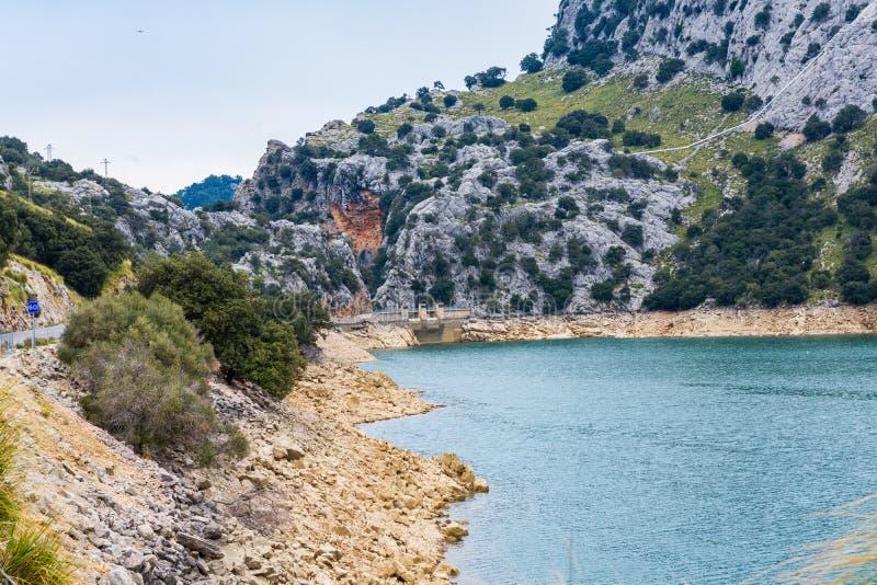 Gorg Blau湖,马略卡 库存照片