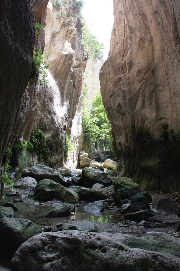 gorge Кипра стоковые изображения