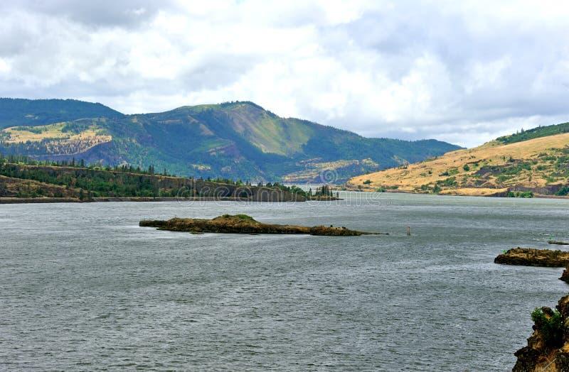 Gorge Рекы Колумбия стоковое фото