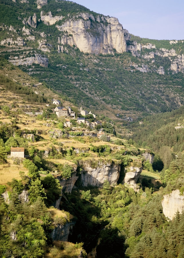 gorge Франции стоковые фото