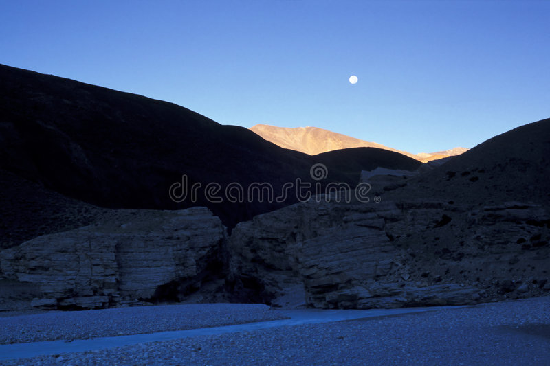 Gorge. In Zanskar Mountains, Ladakh, India royalty free stock image