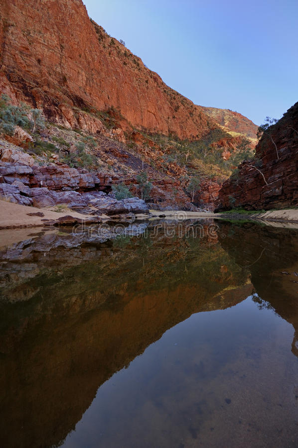 Gorge d'Ormiston, Australie photos libres de droits