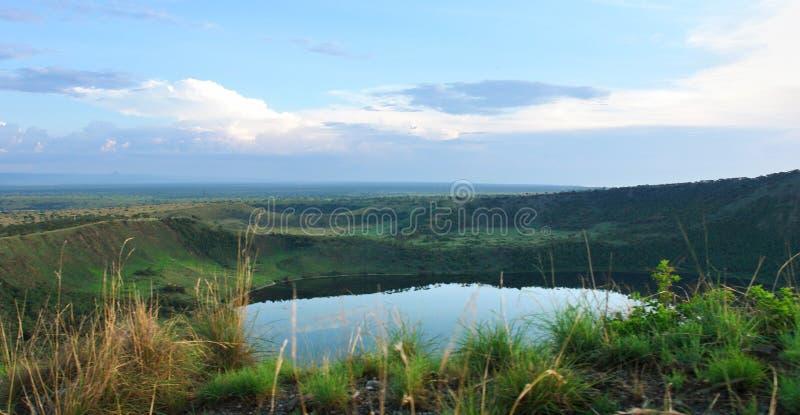 Gorge de Chambura au temps de soirée images stock