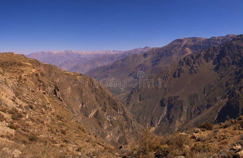 Gorge de Colca photographie stock