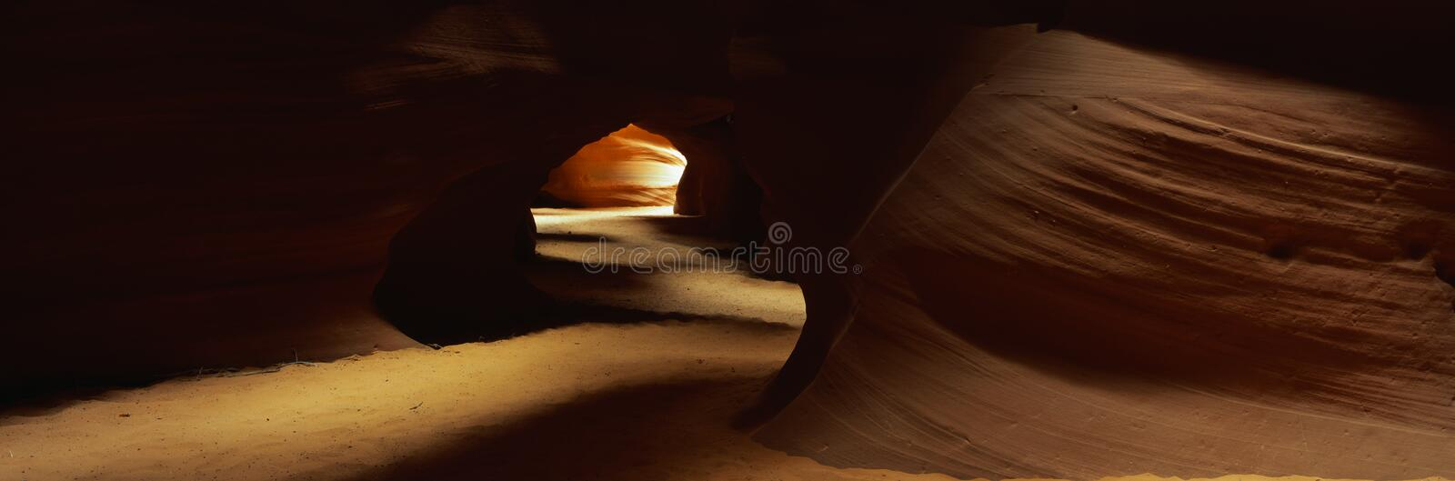 Gorge de fente, Arizona image stock