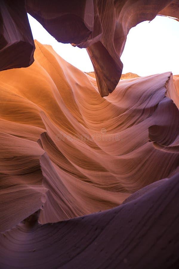 Gorge de fente en Arizona photo stock