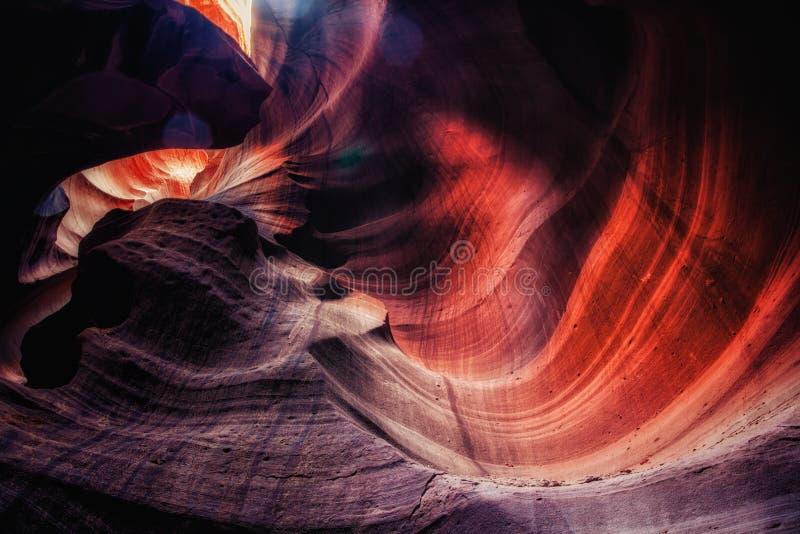 Gorge de fente en Arizona photographie stock