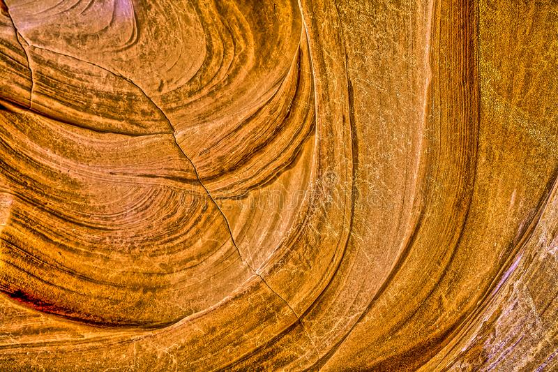 Gorge de fente en Arizona l'arizona photographie stock