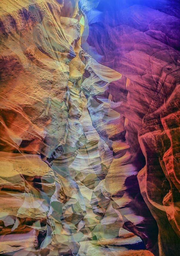 Gorge de fente en Arizona l'arizona photos stock