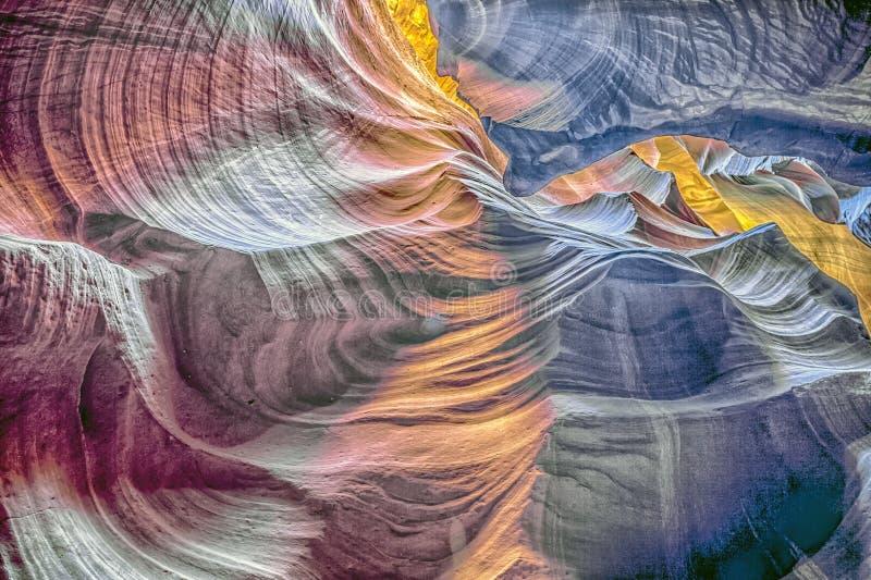 Gorge de fente en Arizona l'arizona photos libres de droits