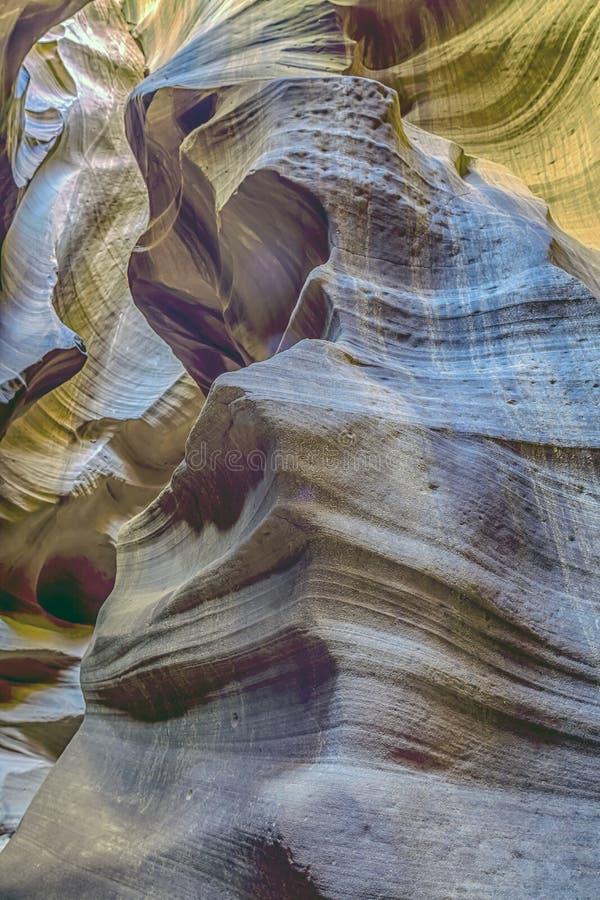 Gorge de fente en Arizona l'arizona photo libre de droits