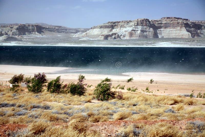 Gorge de gorge, lac Powell, Arizona photos stock