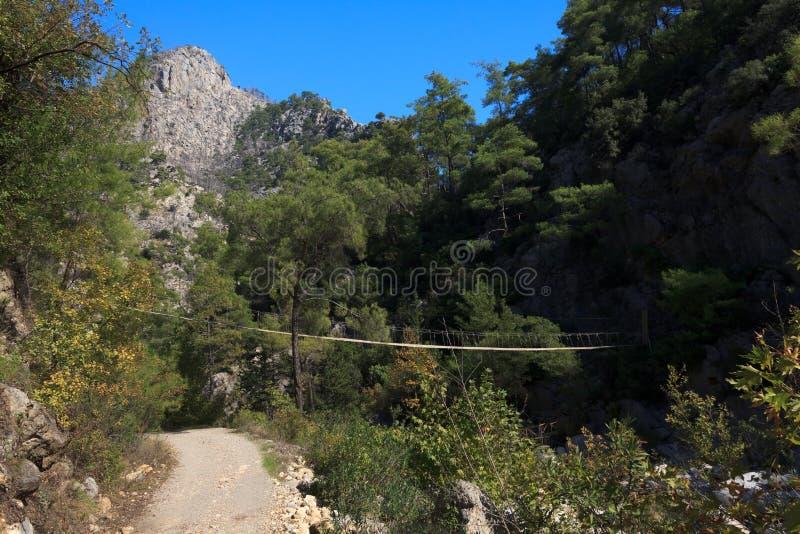 Gorge de Goynuk, Turquie images stock