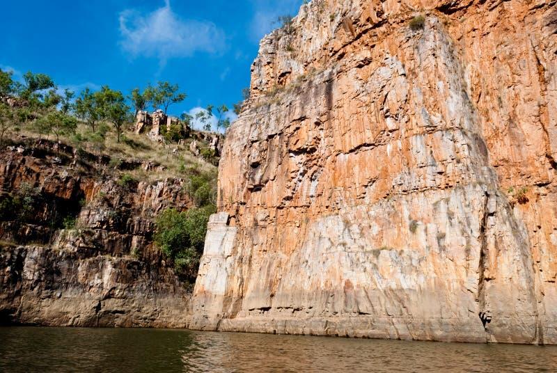 Gorge de Katherine, Australie image libre de droits