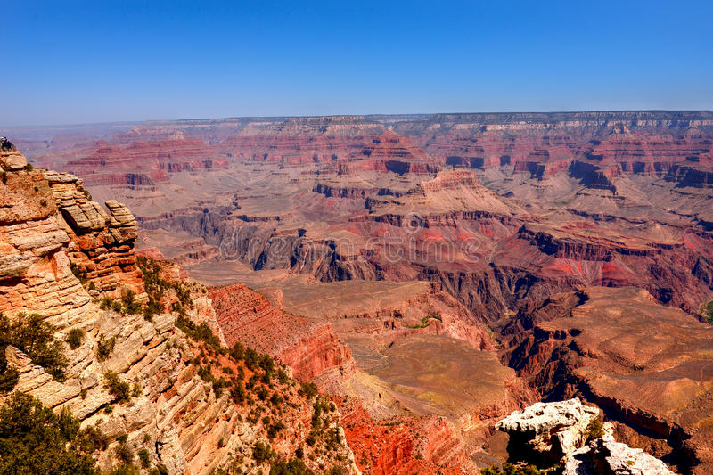 gorge de l'Arizona grande image stock